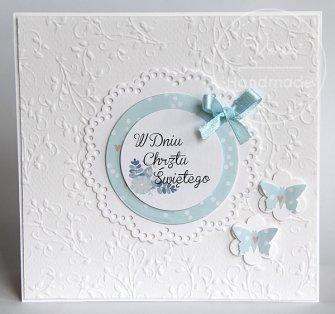 kartka z życzeniami na chrzest święty - 0