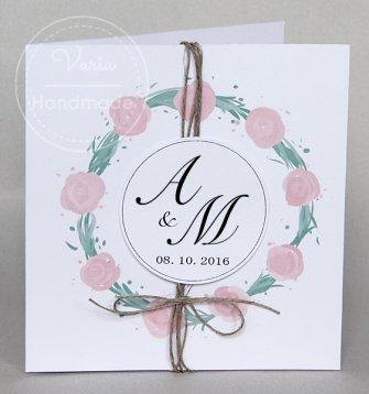 Zaproszenie na ślub wzór_20 - 0