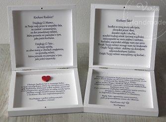ślub Zaproszenia Dla Rodziców świadków Prośby O