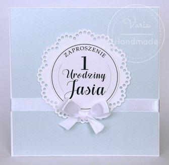 Zaproszenie na I -sze urodziny - 0