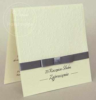 Zaproszenie na rocznicę ślubu (Wzór 2) - 0