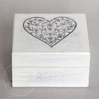 Pudełko na obrączki - na zamówienie (Wzór 21) - 0