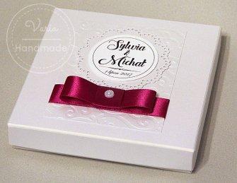 Zaproszenie dla Rodziców w pudełku papierowym (Wzór 4) - 0