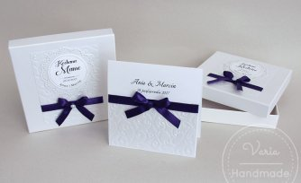 Zaproszenie dla Rodziców w pudełku papierowym (Wzór 9) - 0