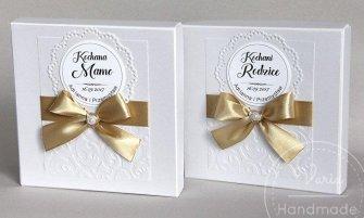 Zaproszenie dla Rodziców w pudełku papierowym (Wzór 10) - 0