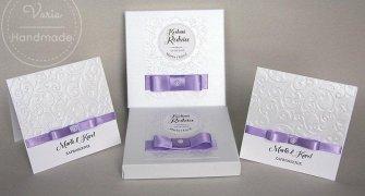 Zaproszenie dla Rodziców w pudełku papierowym (Wzór 11) - 0