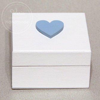 Pudełko na obrączki - na zamówienie (Wzór 6) - 0