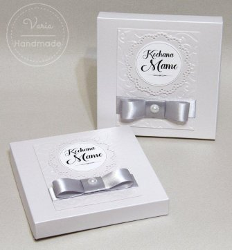 pudełka na biżuterię dla Mamy - komplet dwóch pudełek - 0