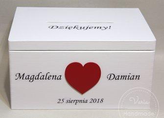 Skrzynia_ślubna na telegramy_wykonana na zamówienie - 0