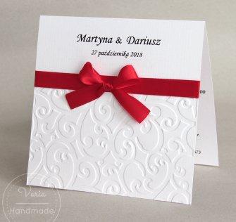 Zaproszenie na ślub - Esy-Floresy (Wzór 79) - 0