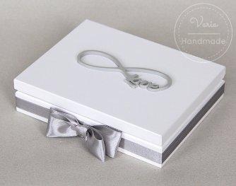 Pudełko na obrączki_wykonane na zamówienie - 0