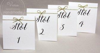 Numerki na stoły weselne_wzór nr 10 - 0