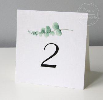 numer na stół weselny wzór nr 8 - 0