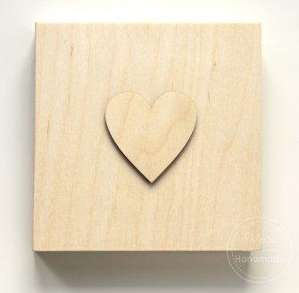Pudełko na życzenia serce - 0